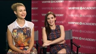 VAMPIRE ACADEMY - Zoey Deutch and Lucy Fry interview