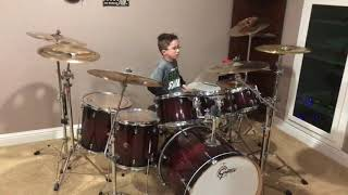 """Twenty One Pilots """"Ride"""" Drum Cover by 9 Year Old Gavin Martin"""