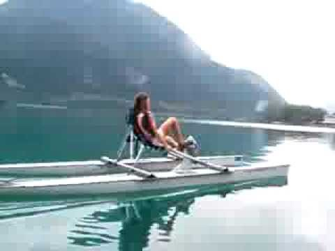 Sexy Girl Ride Open Waterbike video