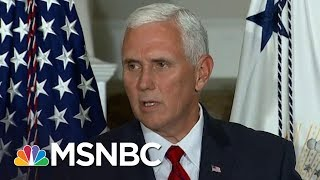Mike Pence Extremism, Unpopularity Overlooked In President Trump's Shadow | Rachel Maddow | MSNBC