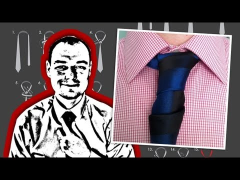 How To Tie a Glennie Double Necktie Knot