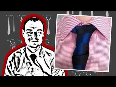 How To Tie a Glennie Double Necktie Knot