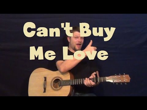 Can't Buy Me Love (The Beatles) Easy Strum Chord Guitar Lesson