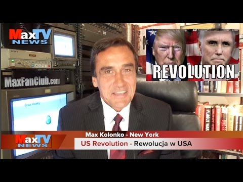 US Revolution - Rewolucja w USA - Max Kolonko Tells it like it is Mówi? Jak Jest