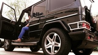 Mercedes-Benz G 55 AMG V8 Kompressor driving and Soundcheck