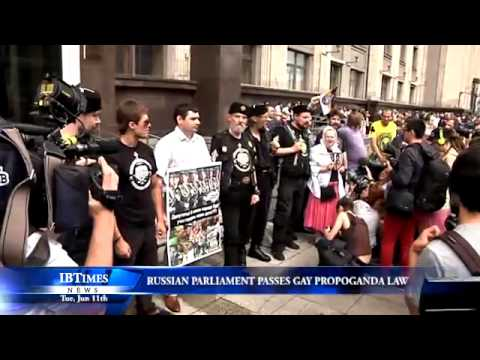 Russian Parliament Passes Gay Propaganda Law