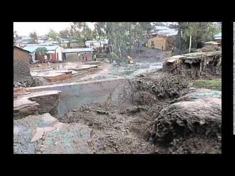 1 min news Malawi floods Landslide Philippines Sao Paulo Brazil drying out