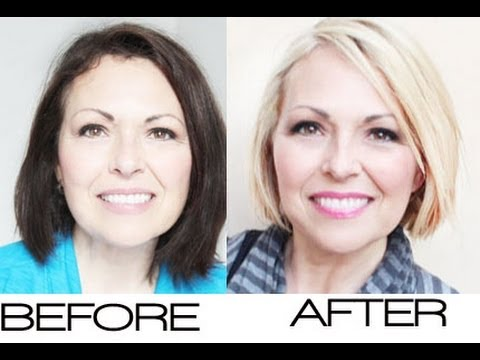 Dark Hair to Blonde Hair Make-Over   Kandee Johnson