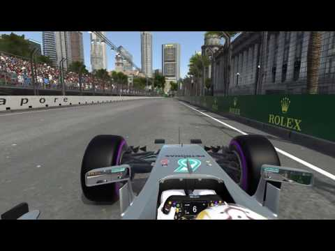 F1 2016 Singapore Time Trial