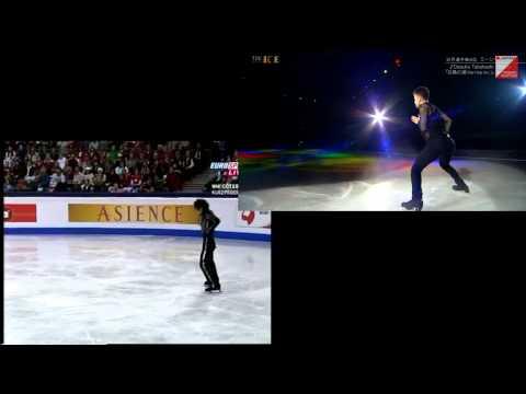 """""""Daisuke tribute"""" Misha GE with Daisuke TAHAHASHI"""