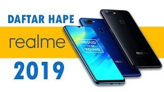 Daftar HP Realme 2019! Pilih yang Mana???