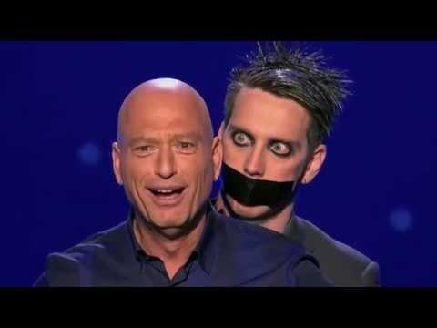 Dziwny śmieszek - Półfinał - Amerykański Mam Talent