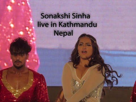 Sonakshi Sinha live in Kathmandu