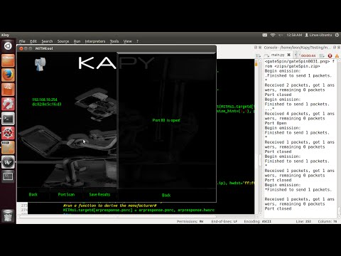 Scapy / Kivy-Tutorial 15 (Target Dictionary)