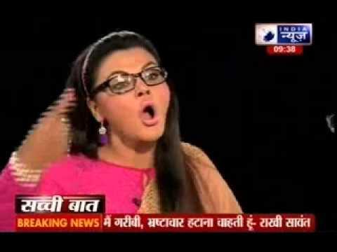 Sachchi Baat: Prabhu Chawla With Rakhi Sawant