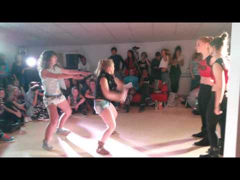 Dancehall battle 2*2 Gaika &Kaya(win) vs Ореха и Полина