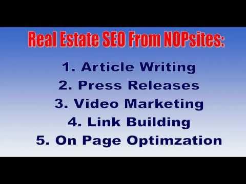 0 Real Estate SEO Services   Realtor SEO
