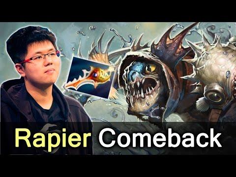 EternalEnvy Rapier comeback — Secret vs Liquid Shanghai Major Dota 2