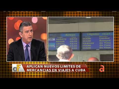 Aplican nuevos limites de mercancías en viajes a Cuba - América TeVé