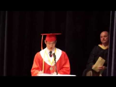 Palma High School Valedictory Address, Batch 2014