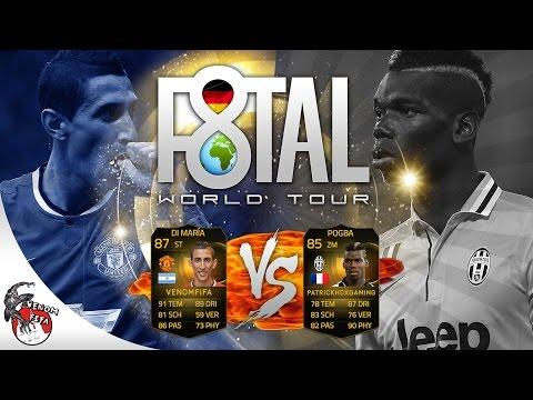 FIFA 15 - IF DI MARIA F8TAL WORLD TOUR | VIERTELFINALE VS. PATRICKHDXGAMING!!! SPIEL 2! [GER] {HD}
