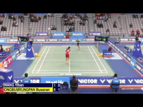 R32 - WS - Wang Yihan vs Busanan Ongbumrungpan - 2014 Korea Badminton Open (F6-3)