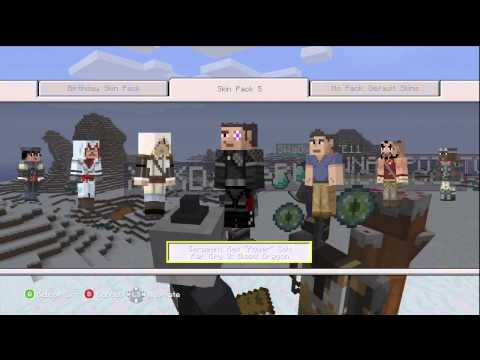 Skin Pack 5 Review ESKIMO STYLE! Thanks @4JStudios - Minecraft (Xbox 360)
