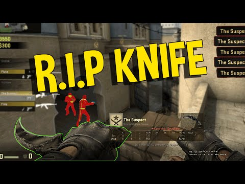 CS:GO - RIP HACKERS KNIFE (OVERWATCH FUNNY MOMENTS)