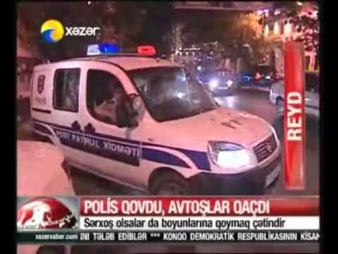 Yol polisi avto� qovur