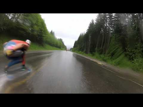 Canada Adventures With William Royce Part 2 - Mt. Washington DH - Bustin Boards Custom Longboards