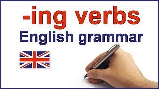 Spelling ing verbs, English Spelling rules and grammar