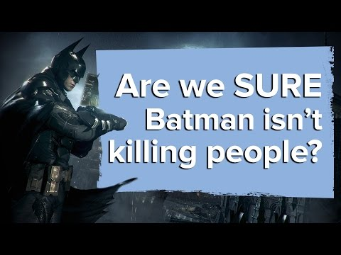 Batman Arkham Knight: Are we SURE Batman isn't killing people?