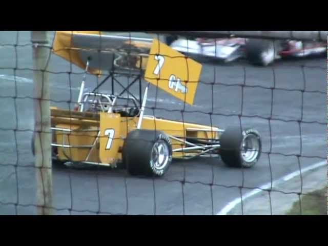 ISMA Supermodifieds Seekonk Speedway Racing Against Cancer 100 feat. pt2 10.02.11