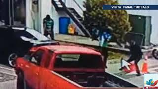Policía frustra asalto, enfrenta y mata a los 3 ladrones