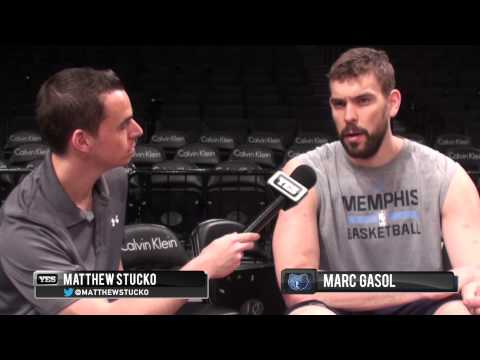 Grizzlies Marc Gasol on Nets Andrei Kirilenko's defense & style of play