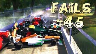 Racing Games FAILS Compilation #45