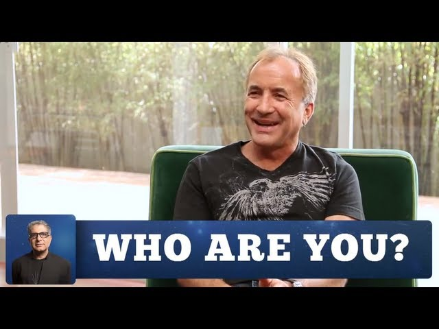 Michael Shermer and Deepak Chopra | WHO ARE YOU? Part 1