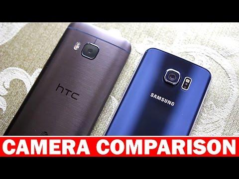 Samsung Galaxy S6 vs HTC ONE M9 Camera Comparison
