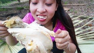 Siêu phẩm Gà Đắp Bùn Nướng Của Cô Sơn Nữ | BBQ Chicken | Aboriginal grilled chicken