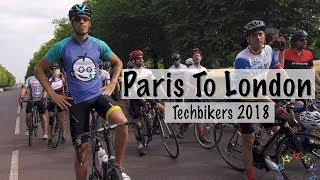 TECHBIKERS 2018 - cycling PARIS TO LONDON for ROOM TO READ