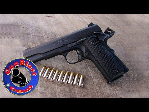 Shooting the Browning 1911-380 Black Label 380 ACP Semi-Automatic Pistol - Gunblast.com