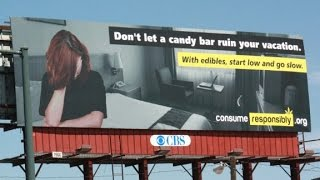 Famous journalist used on edible marijuana PSA billboard