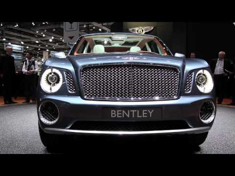 2013 Bentley EXP 9 F - 2012 Geneva Motor Show