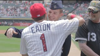 Adam Eaton Suprised on the 4th of July by his Brother Zach!