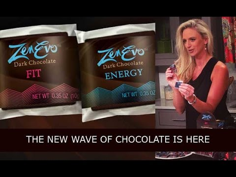ZenEvo Dark Chocolate, for Energy and Weight Loss!