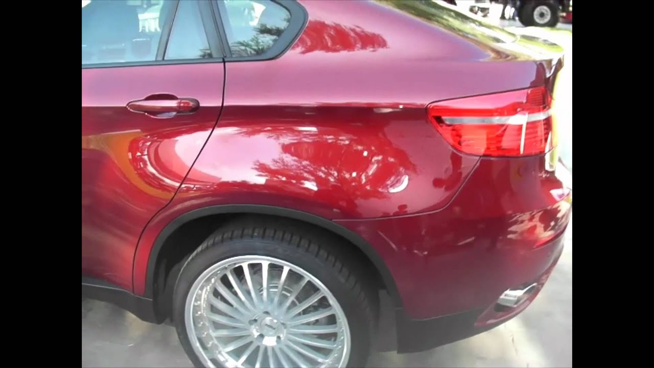 Dubsandtires Com 2011 Bmw X6 Supercharged Review 22 Tsw