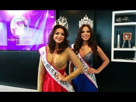 Presentación oficial de representantes de El Salvador para Miss Universo y Miss Mundo 2015