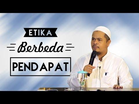 Etika Berbeda Pendapat - Ustadz Abu Thohir Jones Vendra, Lc