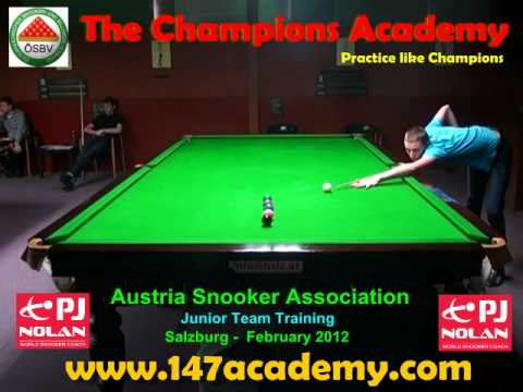 AUSTRIA BILLIARDS AND SNOOKER ASSOCIATION JUNIOR TEAM TRAINING CAMP - FEBRUARY 2012