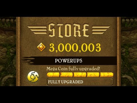 Temple Run Cheats for iPhone & iPad | Money Hack 3,000,000 Gold